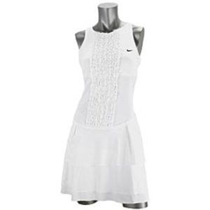 Nike Sharipova Wimbledon Ruffle Tennis Dress